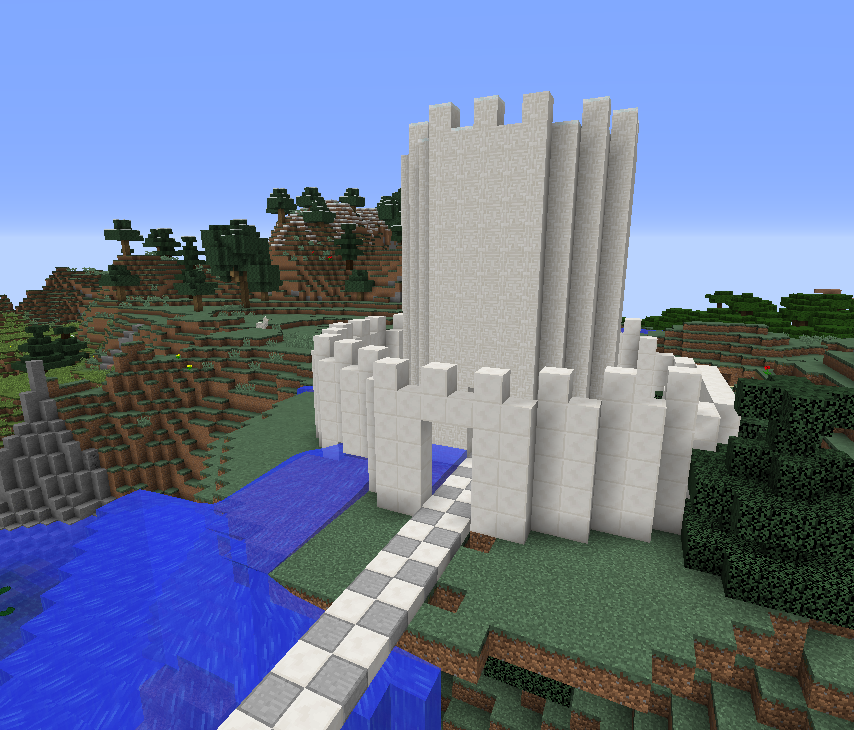 Programming A Simple Castle Visualmodder