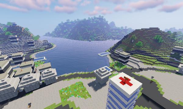 Minecraft Swizerland Lugano